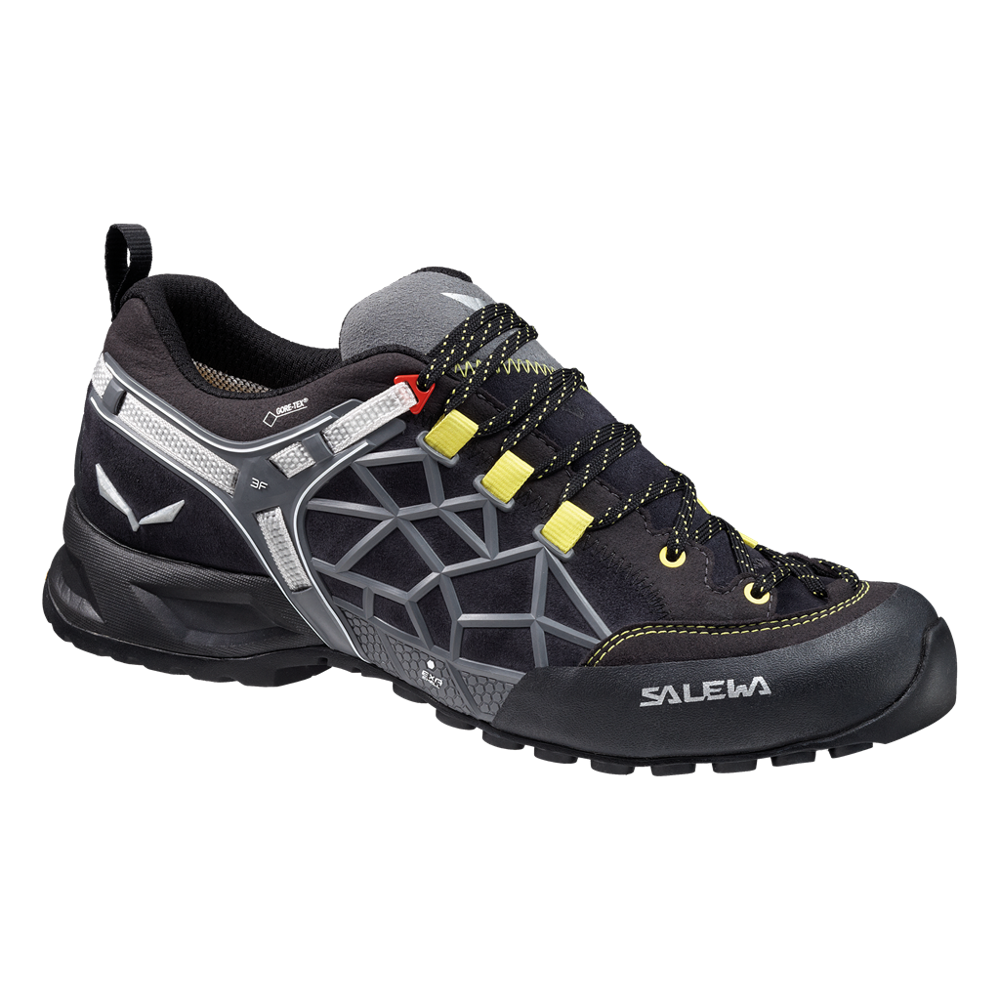 buty salewa ms wildfire pro gtx 0945 black out yellow. Black Bedroom Furniture Sets. Home Design Ideas