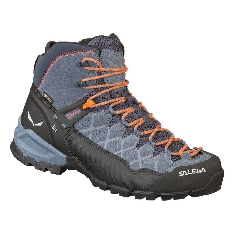Buty Salewa Ms Alp Trainer Mid Gtx 3845 Ombre Blue Fluo Orange Kolor Szary Salewa24 Pl