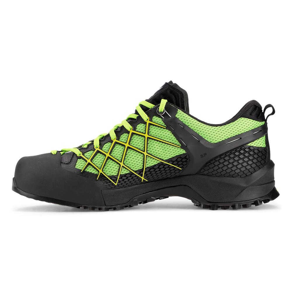 buty salewa ms wildfire gtx 0978 black out fluo yellow. Black Bedroom Furniture Sets. Home Design Ideas