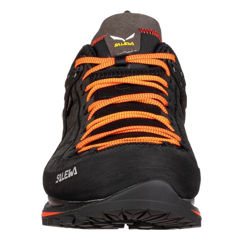 Buty Trekkingowe Meskie Salewa Mtn Trainer 2 Gtx Black Carrot Kolor Czarny Salewa24 Pl