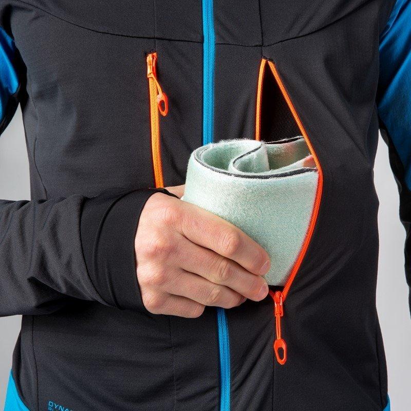 kurtka softshell z kieszenią
