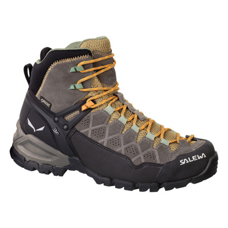 Buty Salewa WS ALP TRAINER MID GTX - 7505/Walnut/Butterscotch