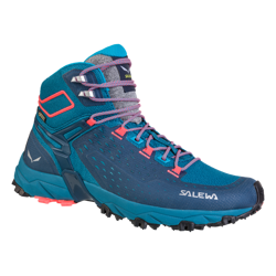 Buty Salewa WS ALPENROSE ULTRA MID GTX - 8363/Blue Sapphire/Fluo Coral